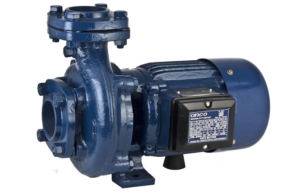 Blaue Pumpe